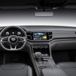 2014 Volkswagen Cross Blue Coupe Concept Interior (3)