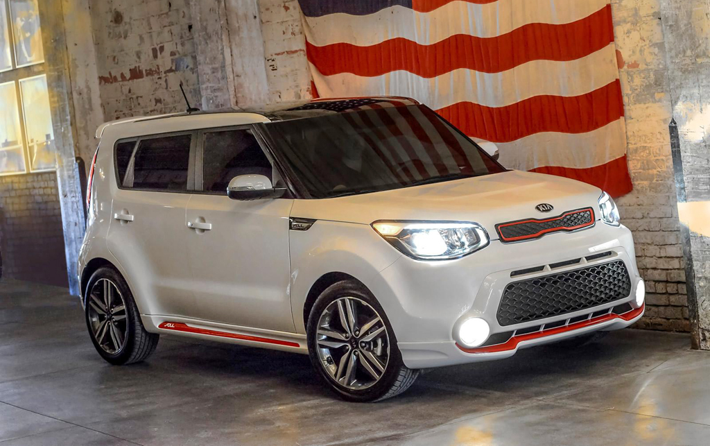 2014 Kia Soul Red Zone special edition 1 2014 Kia Soul Red Zone special edition details