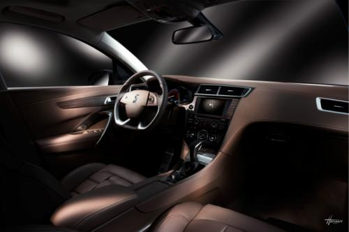 Citroen DS 5LS interior Citroen DS 5LS unveiled