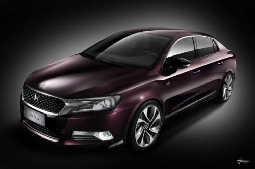 Citroen DS 5LS Citroen DS 5LS unveiled