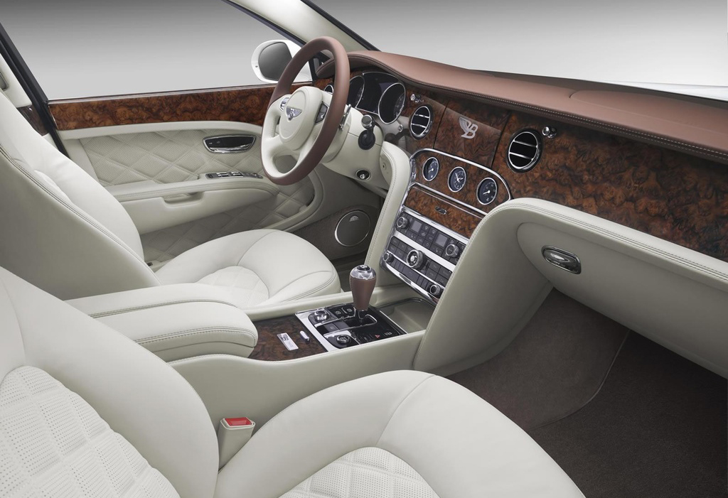 2014 Bentley Mulsanne Birkin Limited Edition Interior 1 2014 Bentley Mulsanne Birkin Limited Edition revealed – A masterpiece