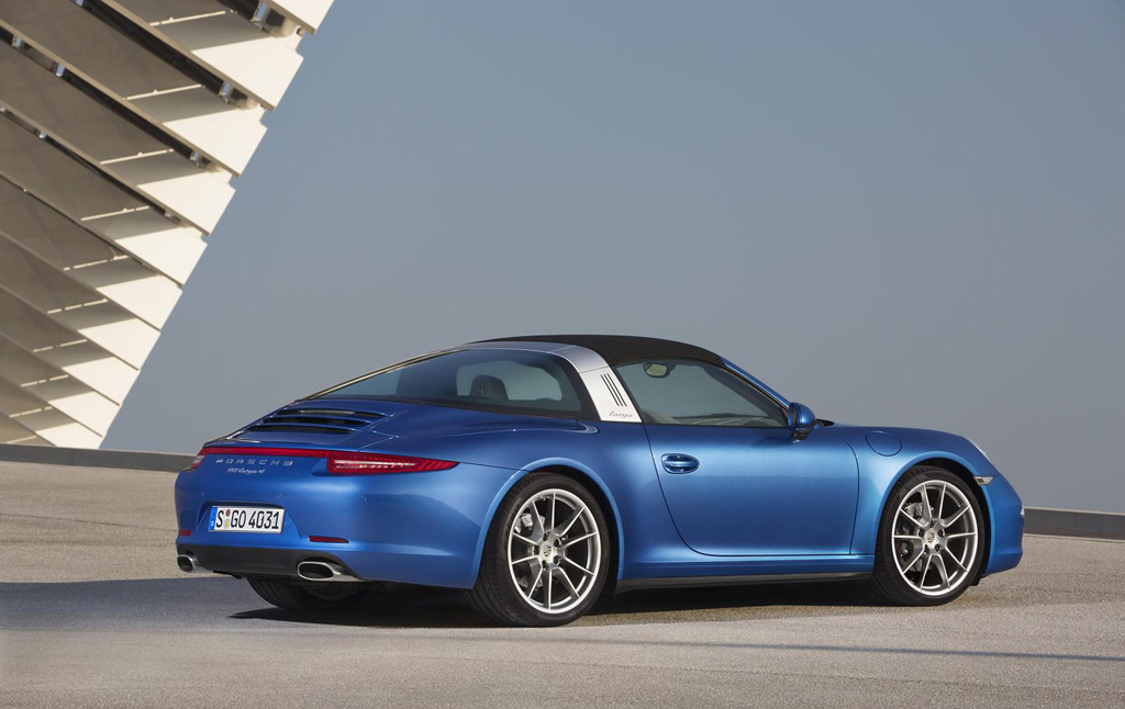 2014 Porsche 911 Targa 4 And Targa 4s Officially Revealed