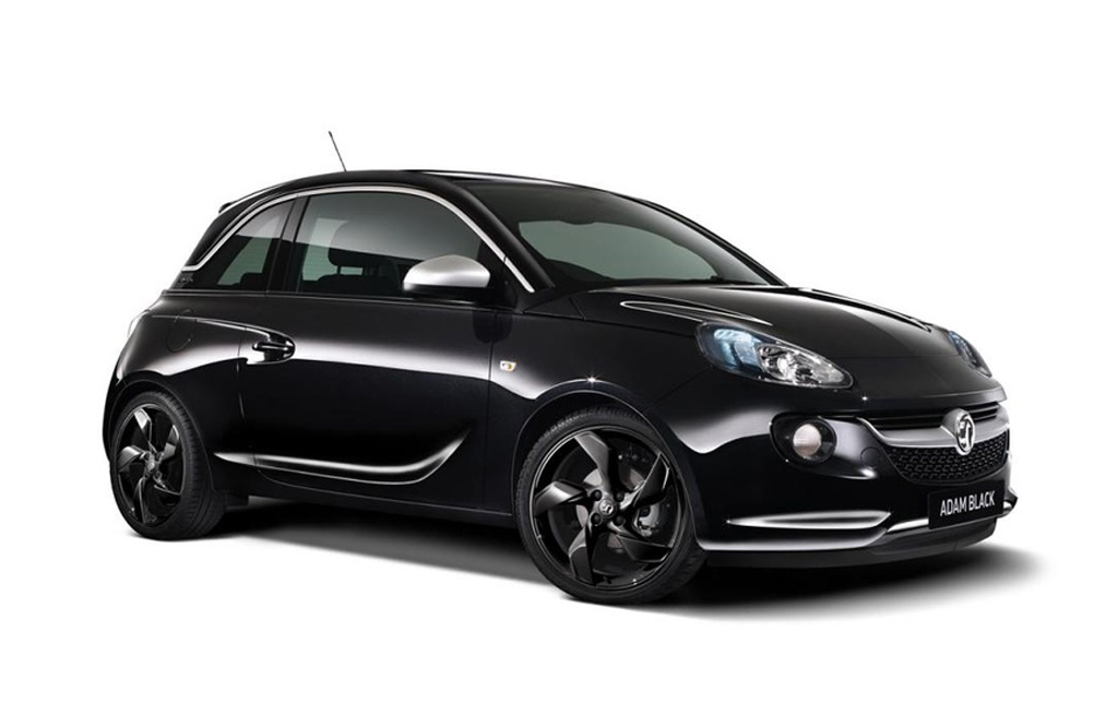 2014 Vauxhall ADAM Black Edition 1 Vauxhall unveils 2014 ADAM Black and White Editions