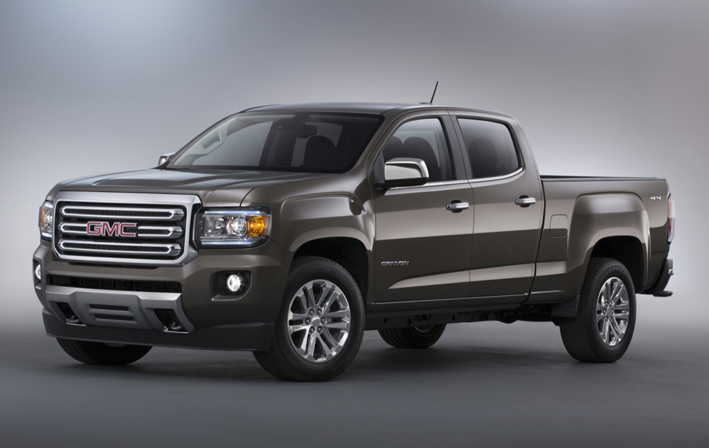 2015 GMC Canyon 1 2015 GMC Canyon Unveiled!