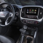2015 GMC Canyon Interior from Passenger's Seat