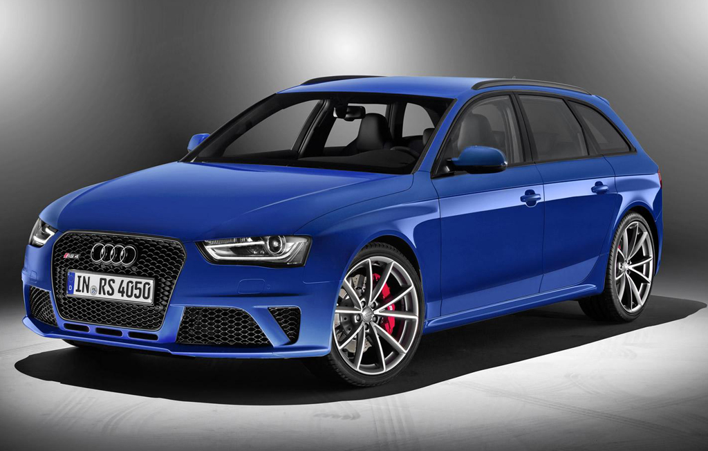 2014 Audi RS4 Avant Nogaro 1 2014 Audi RS4 Avant Nogaro selection introduced