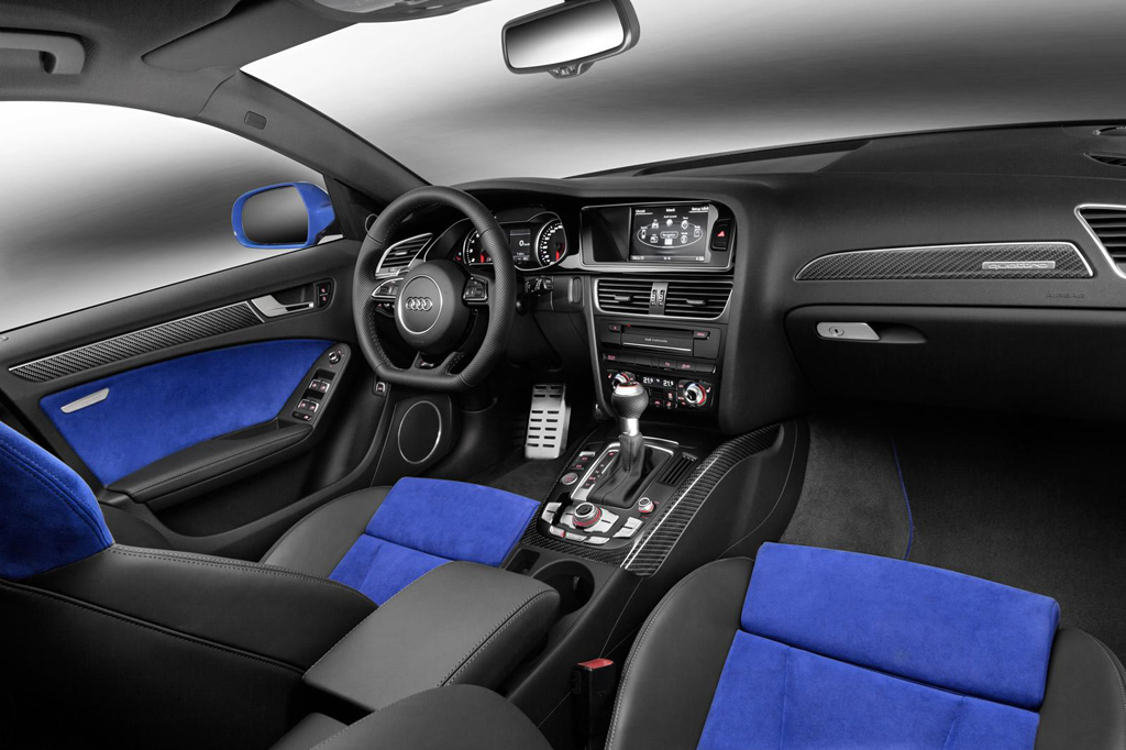2014 Audi RS4 Avant Nogaro Interior 2 2014 Audi RS4 Avant Nogaro selection introduced
