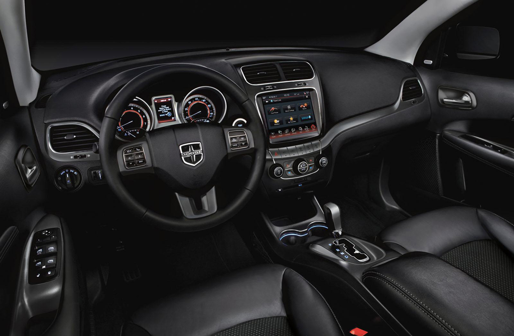 2014 Dodge Journey Crossroad Interior 2014 Dodge Journey Crossroad unveiled