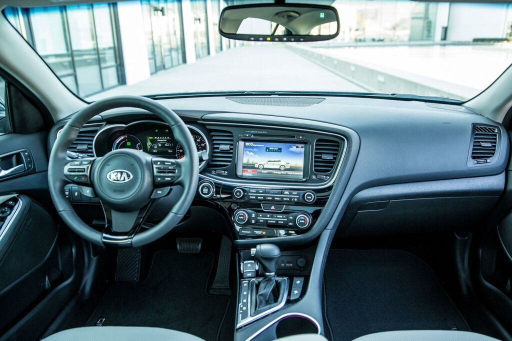 2014 Kia Optima Hybrid Interior 7 2014 Kia Optima Hybrid details