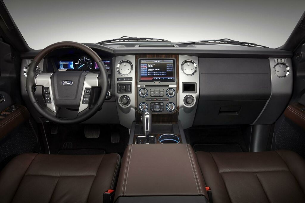 2015 Ford Expedition Interior 2015 Ford Expedition details and photos