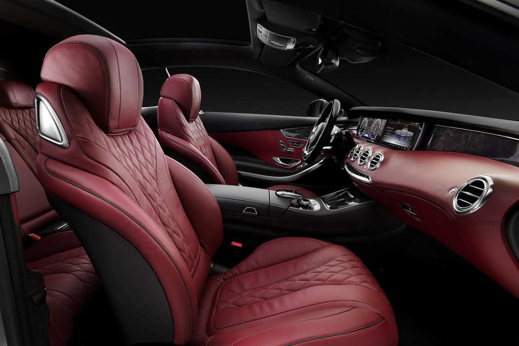 2015 Mercedes Benz S Class Coupe Interior 1 2015 Mercedes Benz S Class Coupe