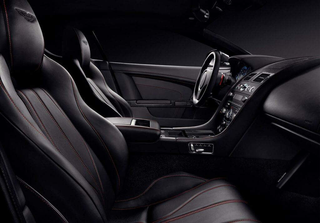 Aston Martin DB9 Carbon Black Interior 2 Aston Martin announces V8 Vantage N430 and DB9 Carbon Black & White special editions
