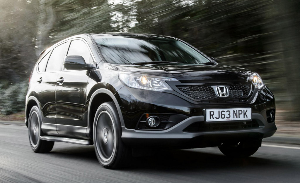Honda CR V Black Editions 1 2014 Honda CR V Black and White Editions launched in UK