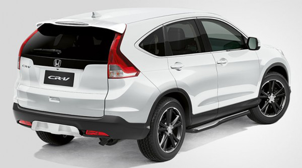 2014 Honda Cr V Black And White Editions Launched In Uk