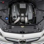 2014 Mercedes-Benz S63 AMG Coupe Engine