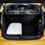 2014 Nissan Juke facelift Boot Space