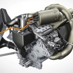 2014 Porsche 919 Hybrid Technical Drawing Engine