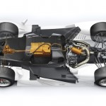 2014 Porsche 919 Hybrid Technical Drawing Hybrid System