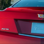 2015 Cadillac ATS Coupe Red Rear View Closeup