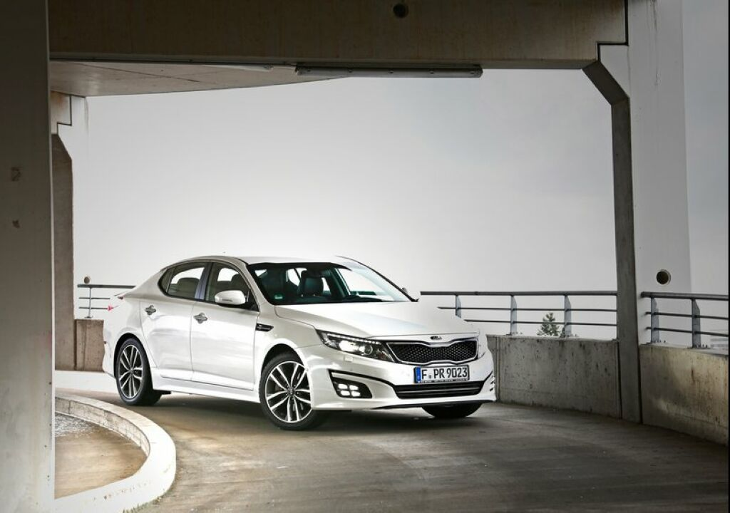 2014 Kia Optima EU Version 1 2014 Kia Optima EU Version is ready to roll
