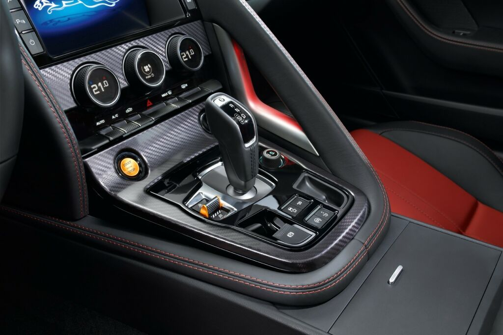 2015 Jaguar F Type Coupe Interior 8 2015 Jaguar F Type Coupe details