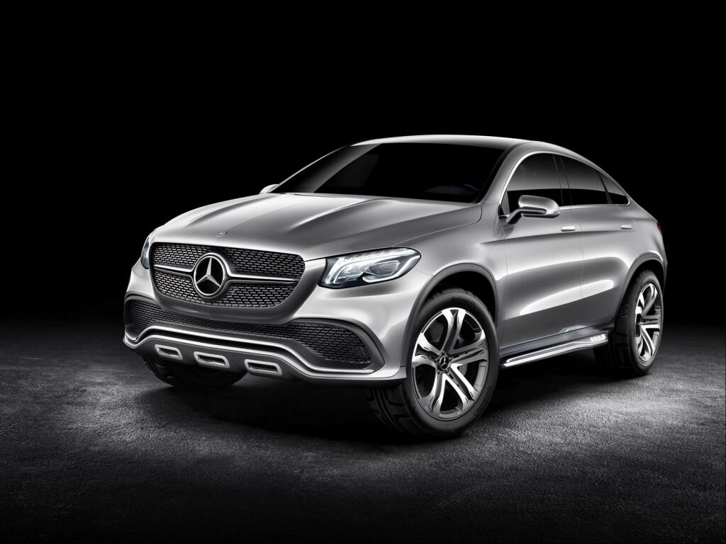 2015 Mercedes Benz Concept Coupe SUV 1 2015 Mercedes Benz Concept Coupe SUV