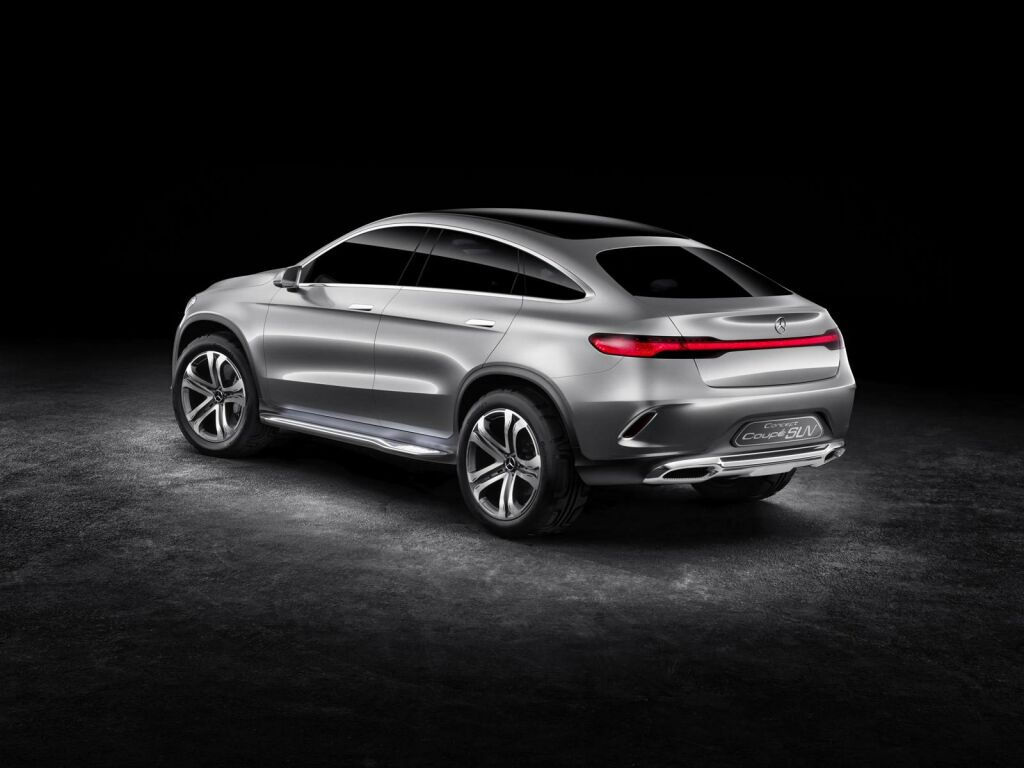 2015 Mercedes Benz Concept Coupe SUV 4 2015 Mercedes Benz Concept Coupe SUV