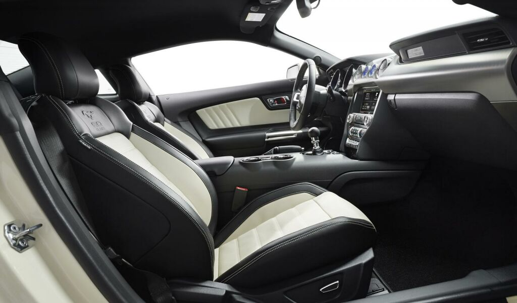 Ford Mustang 50 Year Limited Edition Interior 2 Ford Mustang 50 Year Limited Edition announced