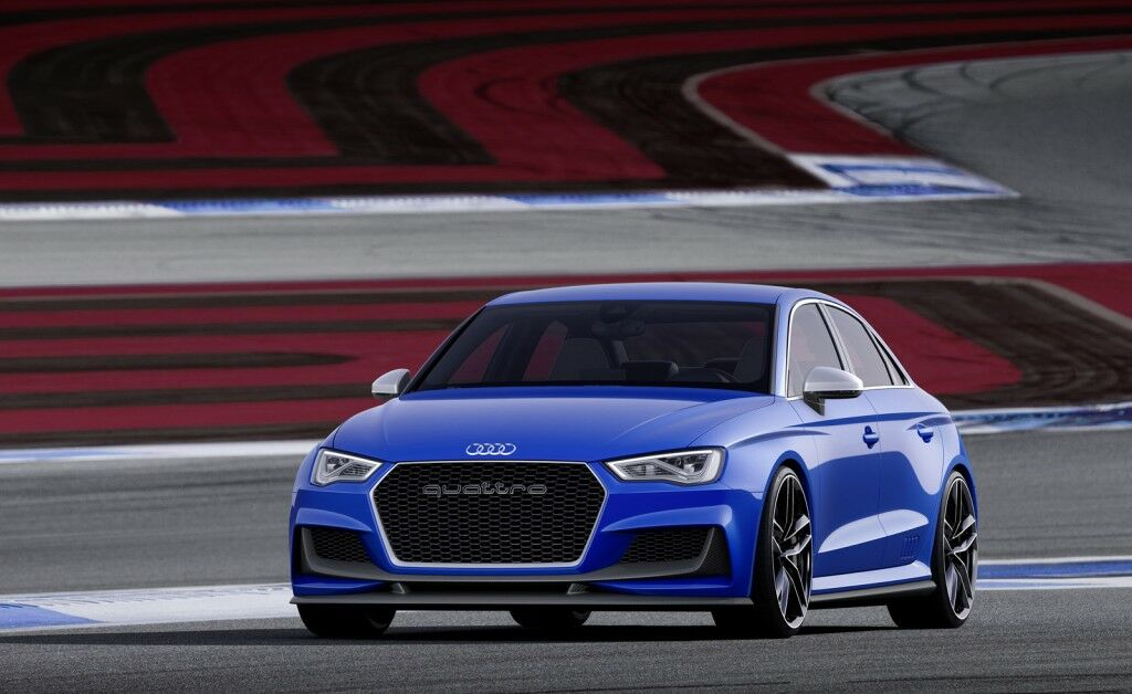 2014 Audi A3 Clubsport quattro Concept 2 2014 Audi A3 Clubsport quattro Concept presented at Worthersee