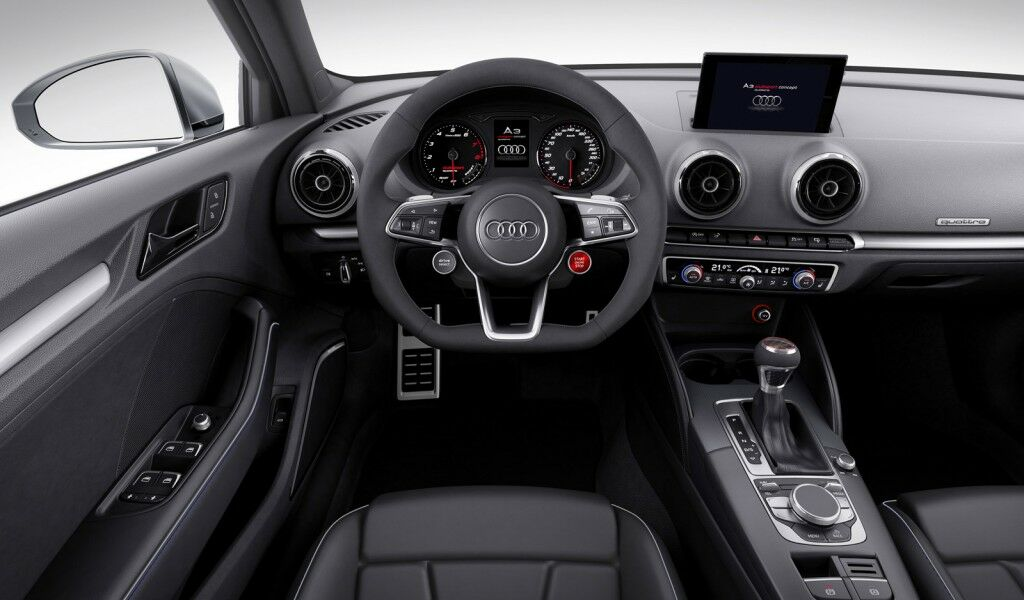 2014 Audi A3 Clubsport quattro Concept Interior 2014 Audi A3 Clubsport quattro Concept presented at Worthersee