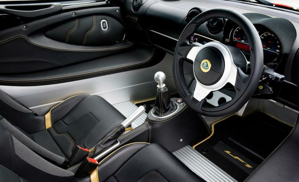 2014 Lotus Exige LF1 Interior 4 Lotus launches the 2014 Exige LF1