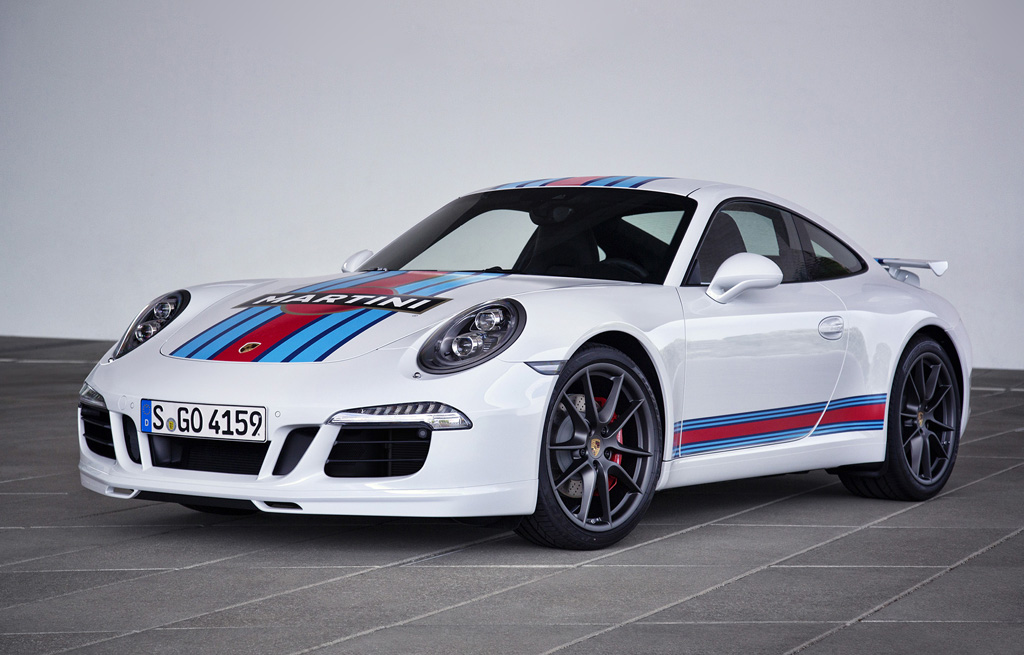 2014 Porsche 911 S Martini Racing Edition 3 Porsche unveils the 2014 911 S 'Martini Racing Edition'