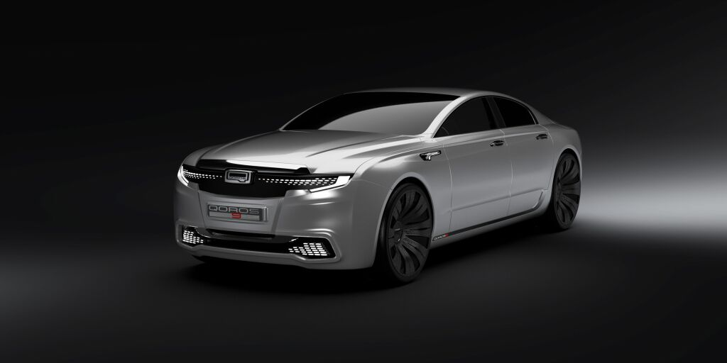 2014 Qoros 9 Sedan Concept 1 2014 Qoros 9 Sedan Concept unveiled