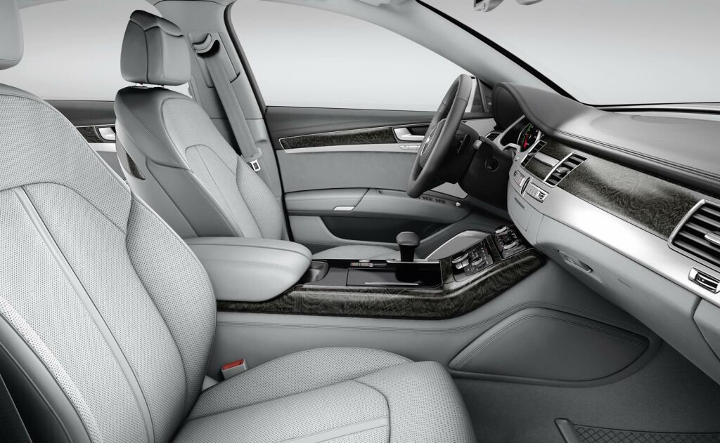 2015 Audi A8 Interior 3 Audi announces the price of 2015 A8