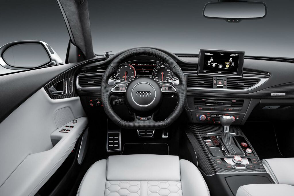 2015 Audi RS7 Sportback facelift Interior 3 Audi launches 2015 RS7 facelift