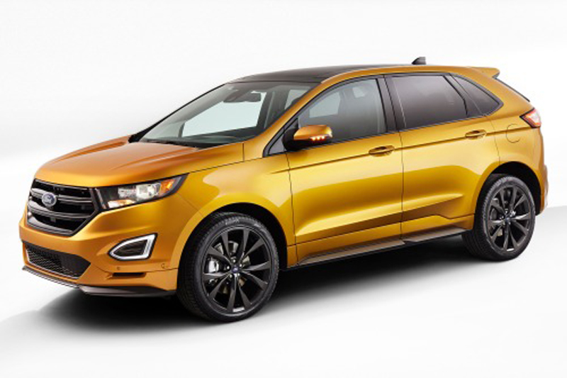 2015 Ford Edge 1 2015 Ford Edge SUV features and details