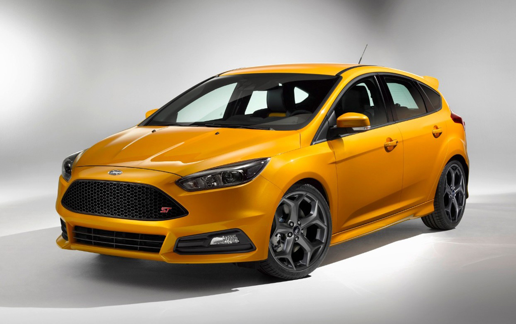 2015 Ford Focus ST 1 Ford Focus ST 2015 makes its debut