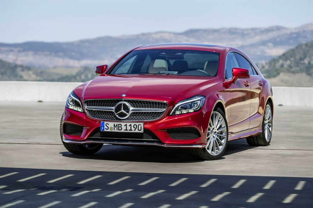 2015 Mercedes Benz CLS facelift 10 Face lifted 2015 Mercedes CLS ready for release