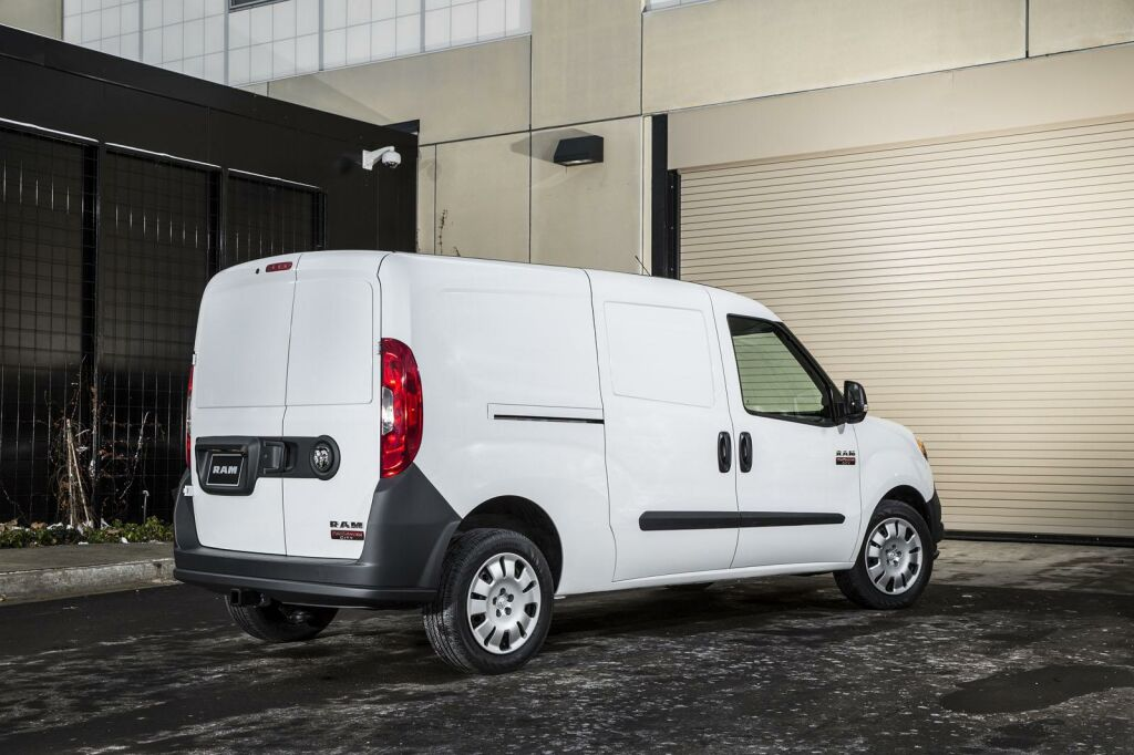 2015 Ram ProMaster City 6 2015 ProMaster City from Ram Trucks is unveiled