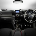 Ford Fiesta Red and Black Edition Interior (1)