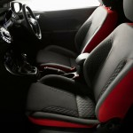 Ford Fiesta Red and Black Edition Interior (2)