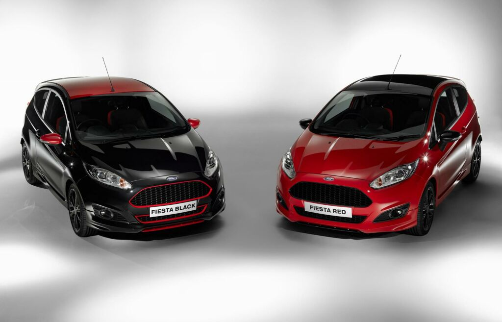 Ford Fiesta Red and Black Edition Ford Launches Stunning 2015 Limited Edition Fiesta