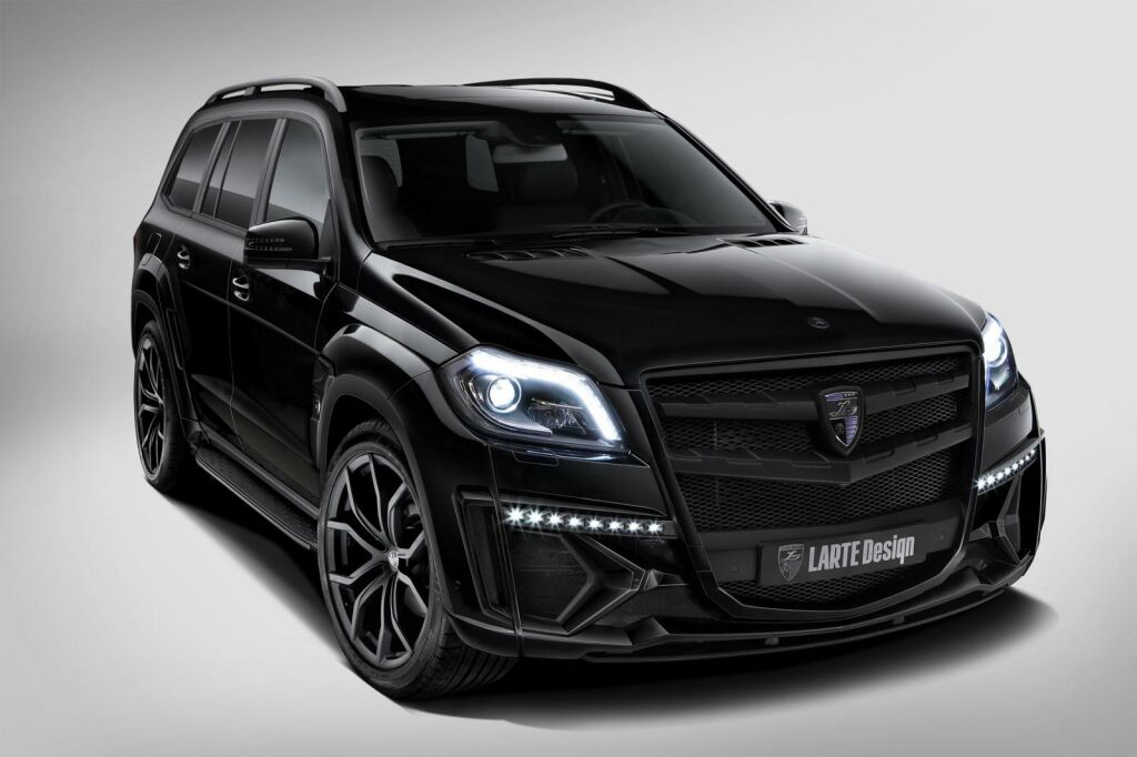 Larte Design Mercedes GL Black Crystal 1 Larte Design Mercedes GL Black Crystal unveiled