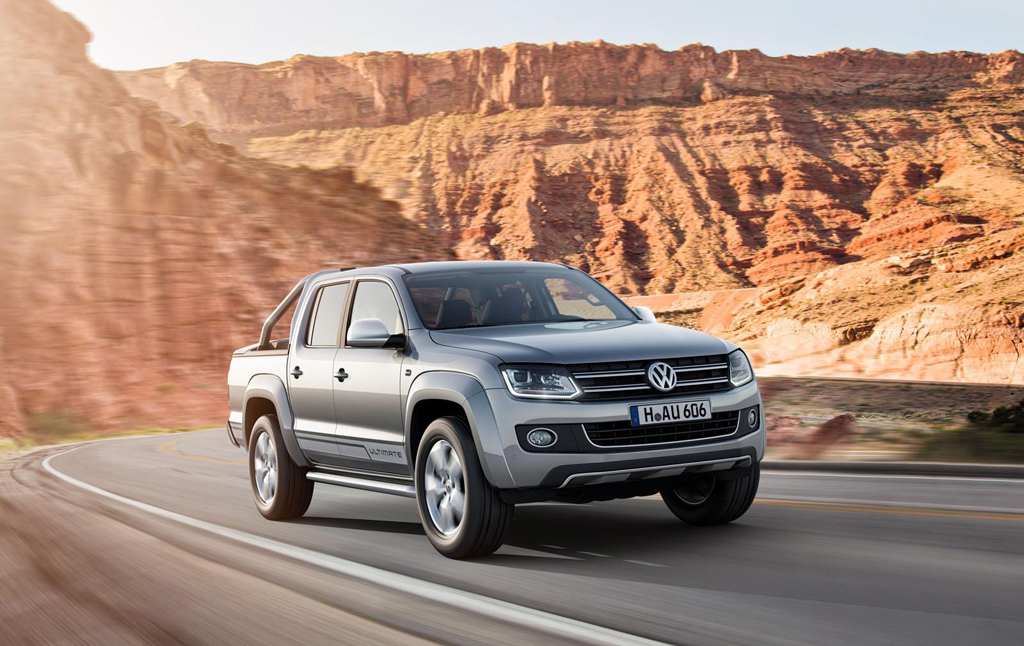 Volkswagen Amarok Ultimate Edition 1 Volkswagen builds the 'Ultimate' Amarok pickup truck
