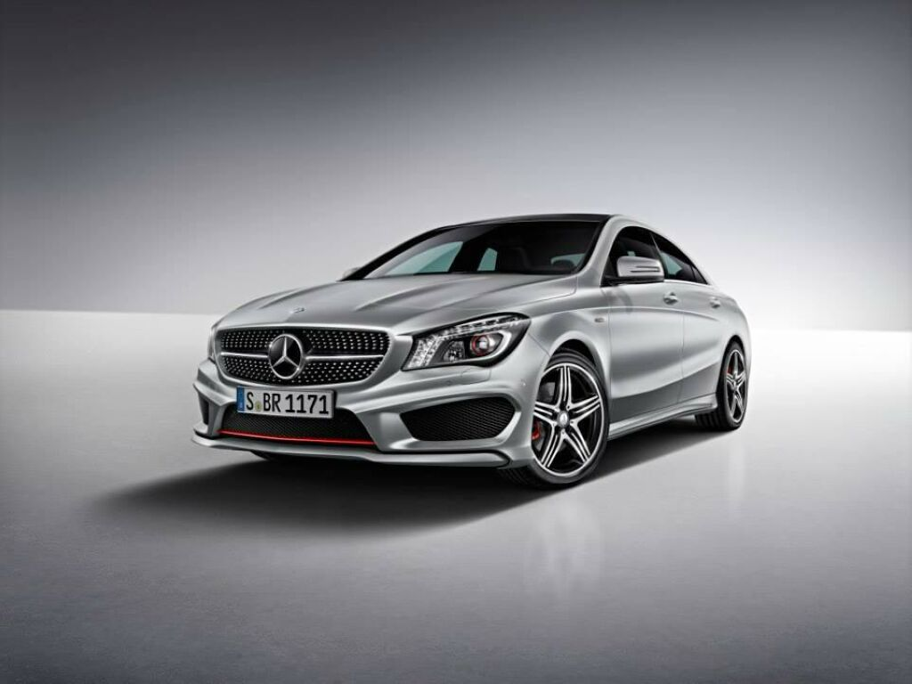 2014 Mercedes Benz CLA250 1 Mercedes offers sports package for 2014 CLA 250 in USA