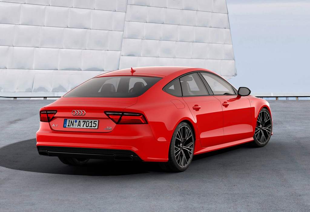 Audi Celebrates Tdi Technology With Special Edition Of 2015 A7 Sportback Machinespider Com