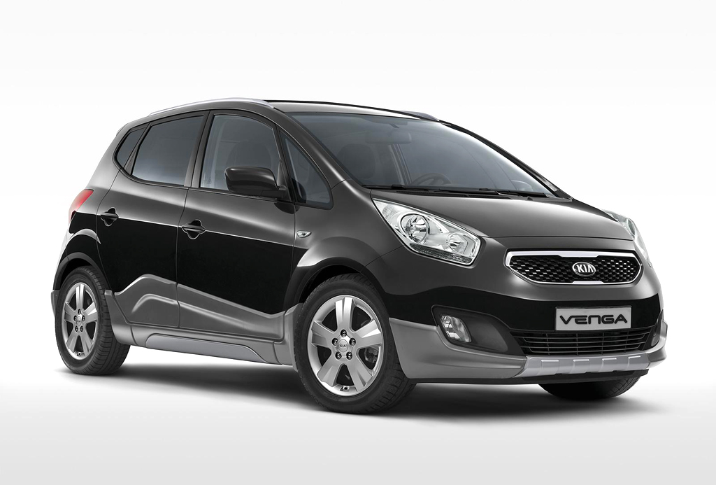 2015 Kia Venga Crossover Limited Edition 1 Limited Edition of Kia Venga crossover released in Italy