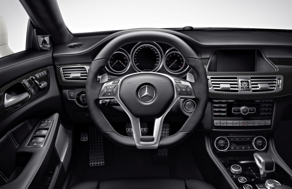 2015 Mercedes Benz CLS63 AMG Interior 1 2015 Mercedes 'CLS 63 AMG' out now