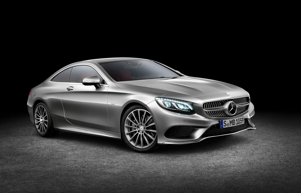 2015 Mercedes S500 Coupe 1 Mercedes launches 9G Tronic transmission with 2015 S Class Coupe