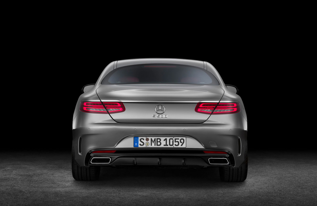 2015 Mercedes S500 Coupe 5 Mercedes launches 9G Tronic transmission with 2015 S Class Coupe